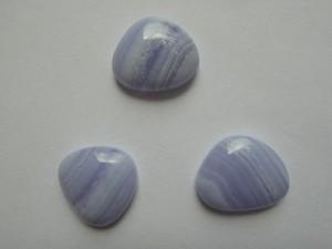 blue lace trojkat